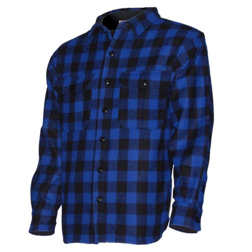 Minus33 Merino Wool 500 White Mountain Work Shirt Blue XL