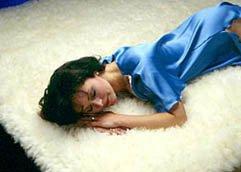 SnugFleece Original Wool Mattress Pad – Queen