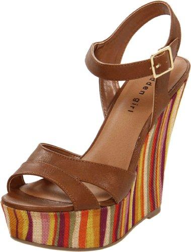 Madden Girl Women's Wisperr Ankle-Strap Sandal,Tan Paris,7 M US