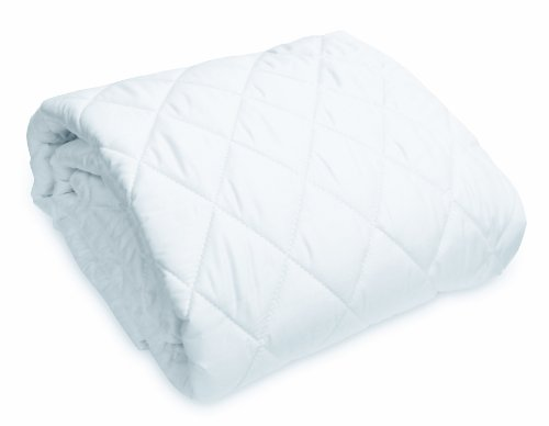 Natura World Wash N Snuggle Fitted Mattress Pad, Queen