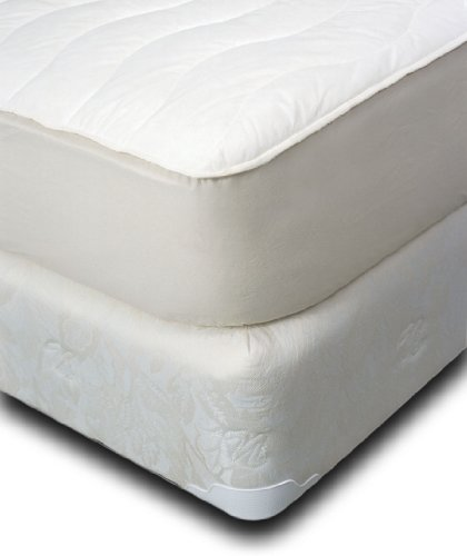 Natura Washable Fitted Wool & Cotton Mattress Pad – Queen