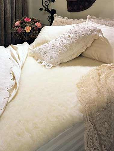 SnugFleece Deluxe Wool Mattress Cover – Crib