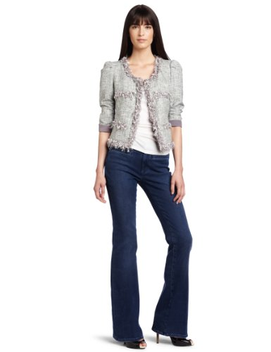 McGinn Women's Jen Tweed Jacket, Grey, Medium