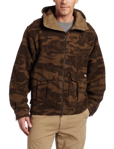 Columbia Men's Monarch Pass Jacket,BROWN WOOL CAMO,Large
