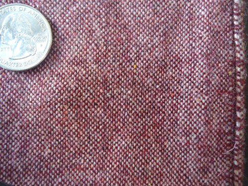 56 Inch Wide Wool Medium Weight Wine Color Pants Jackets Skirts Decor Fabric By the Yard