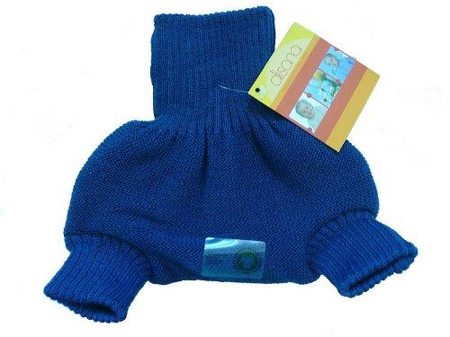 Disana Organic Merino Wool Cover-Blue-86/92 (12-24 mo)