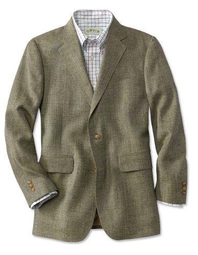 Silk Tweed Jacket / Regular, Sage, 44