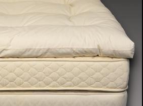 Bio Sleep Concept Organic Wool 3-Inch, Queen Size Mattress Topper
