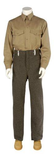 Pants Wool Navy Blue, 32″ Inseam, 3XL