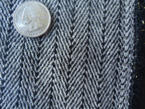 56 Inch Wide Wool Medium Weight Grey Striped Pants Jackets Skirts Drapery Scarfs Fabric By the Yard