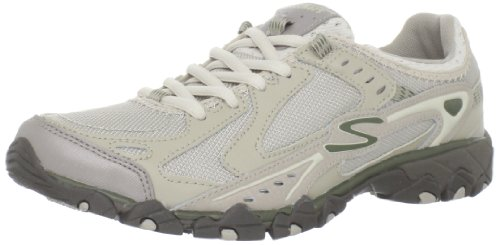 Skechers Women's Navigations-Paria Canyon Oxford,Taupe,5.5 M US
