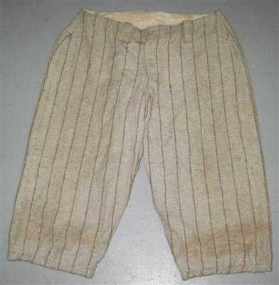 Vintage Early 1900's Wool Game Used Baseball Pants – Game Used Baseballs