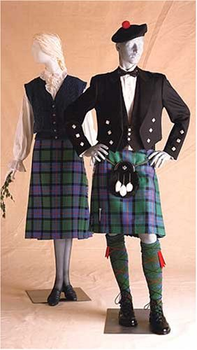 Prince Charlie Jacket and Scottish Kilts Pattern for Men and Women