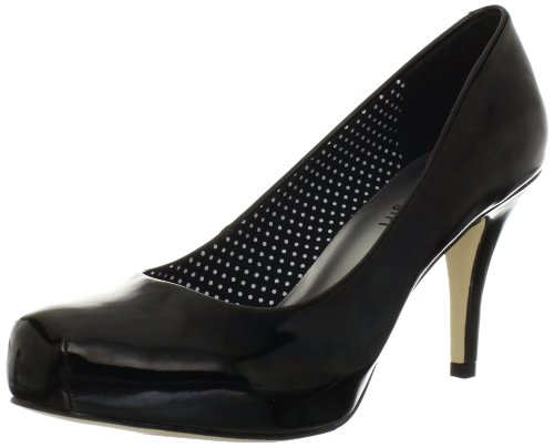 Madden Girl Women's Gettaw Pump,Black Patent,7.5 W US
