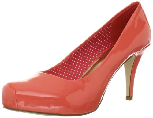 Madden Girl Women's Gettaw Pump,Light Coral,6.5 W US