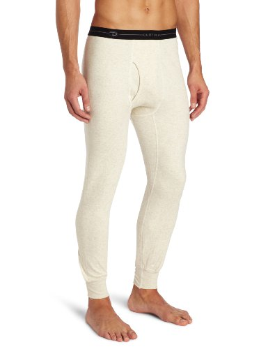Duofold Men's Heavy Weight Plus Bottom, Oatmeal Heather, Medium