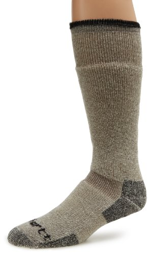 Carhartt Men's Artic Wool Heavy Boot Socks, Brown, Large
