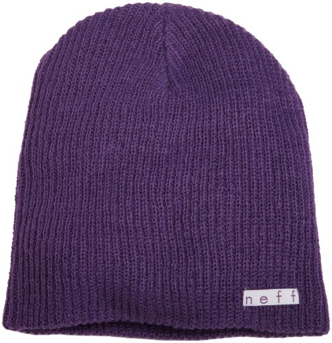 Neff Men's Daily Beanie Hat, Purple, One Size