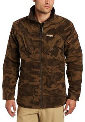 Columbia Men's Expedition Ridge Wool Jacket, Brown Camo, Small