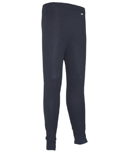 Polarmax Unisex Child Double Base Layer Pant (Black, Small)