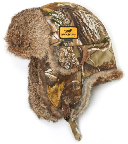 Irish Setter Men's Ace Polyester Aviator Hat (Real Tree AP HD, X-Large)