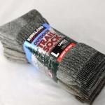 Kirkland Signature Outdoor Trail Sock Merino Wool Blend (Large – Pack of 4)