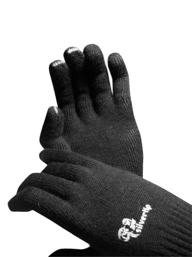 SilverTip Merino Wool gloves – size X Small – black