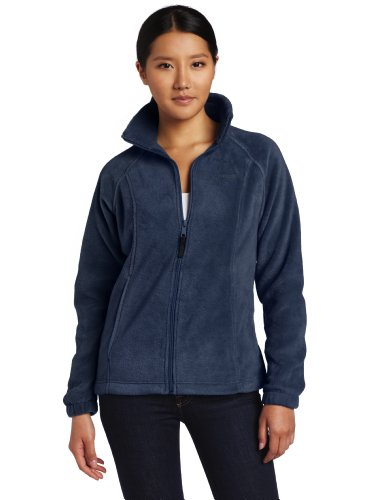 Columbia Women's Benton Springs Full Zip Fleece Jacket, Columbia Navy, X-Large