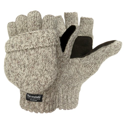 Hot Shot Men's the Sentry Mittens, Oatmeal, One Size