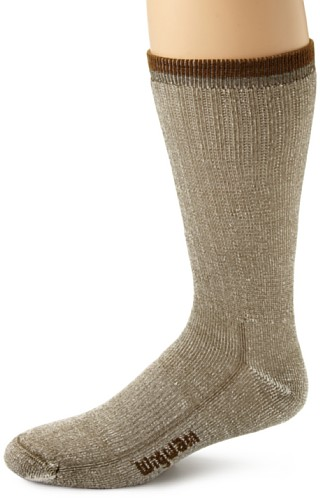 Wigwam Men's Merino Comfort Hiker Socks, Olive, Large