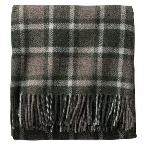 Pendleton Eco-Wise Washable Throw Blanket, Juniper/Taupe