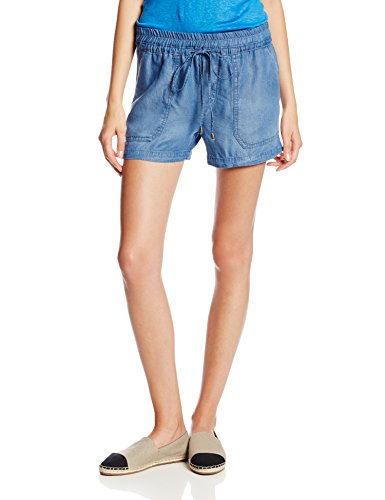 Splendid Women's Chambray Tencel Short, Medium Wash, Medium