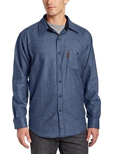 Pendleton Men's Fitted Trail Shirt, Blue Mix, Medium