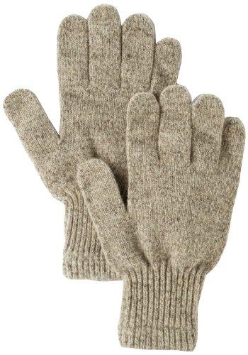 Fox River Men's Mid Weight Ragg Glove, Brown Tweed, Large
