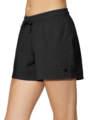 Champion Women's Jersey Short, Black, Medium