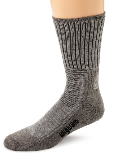 Wigwam Men's Hiking Pro Socks, Grey Heather, Medium