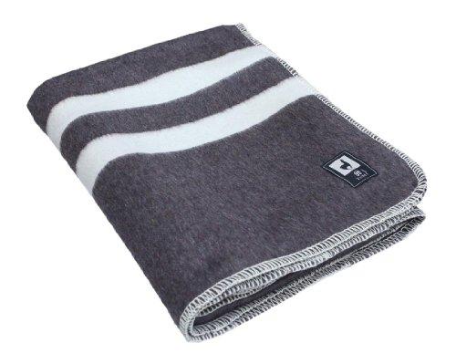 Thick Alpaca Wool Blanket, Queen, Ivory