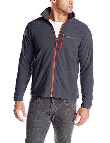 Columbia Men's Fast Trek Ii Full Zip Fleece, Graphite, Medium