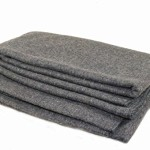 Wool Blanket Made In the USA USGI 66×84 Army Emergency Rescue Survival Grey 80%
