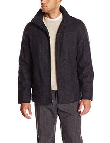 Perry Ellis Men's Tall Melton Wool Jacket