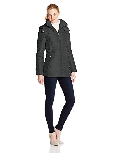 Jessica Simpson Women's Short Down Jacket with Hood