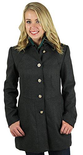 Jessica Simpson Women's Peacoat Faux Wool Coat