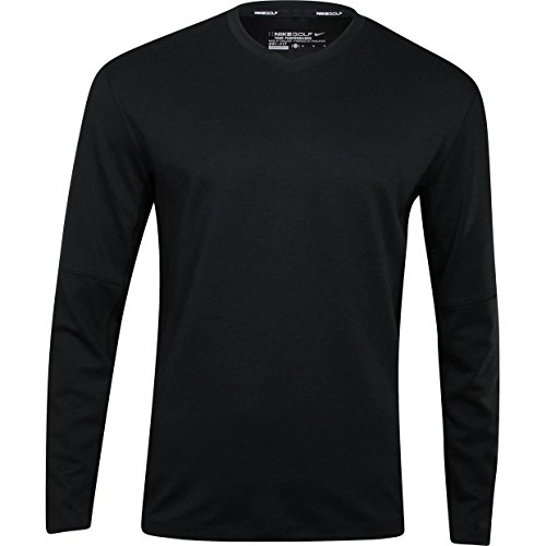 Nike Golf Men's Dri-Fit Wool Tech Sweater Natual Touch Pullover