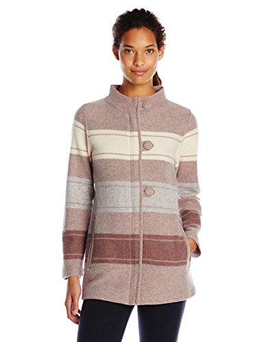 Pendleton Women's Alpine Boiled Wool Cardigan Sweater
