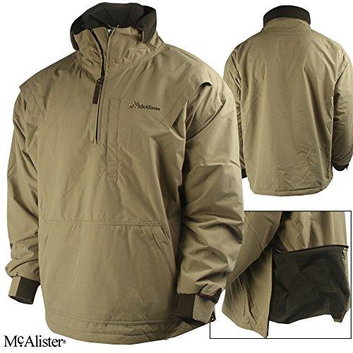 McAlister Fleece-Lined Pullover Jacket (M)- Khaki
