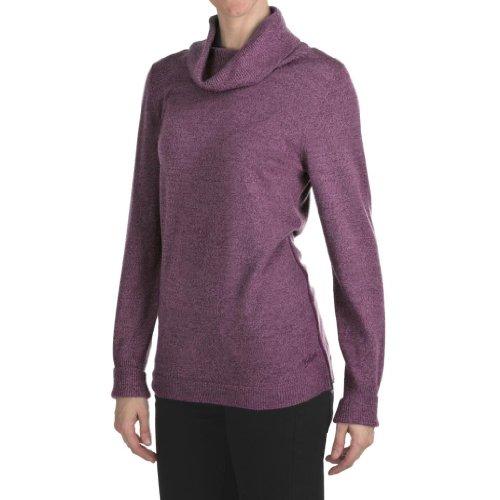 Woolrich Trailblazer Cowl Neck Sweater – Merino Wool Large Charcoal