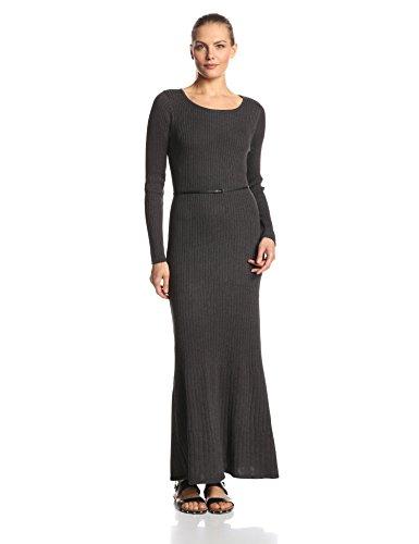 Calvin Klein Women's Long-Sleeve Maxi Sweater Dress