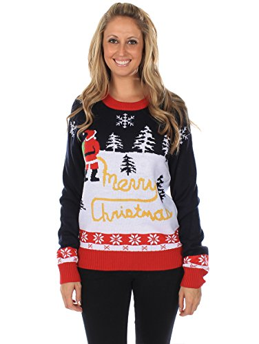 Women's Ugly Christmas Sweater – Yellow Snow Sweater