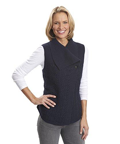 Woolrich Women's Hannah Cable Wool Sweater Vest