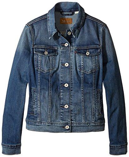 Levi's Women's Classic Trucker Jacket in Saddle Blue